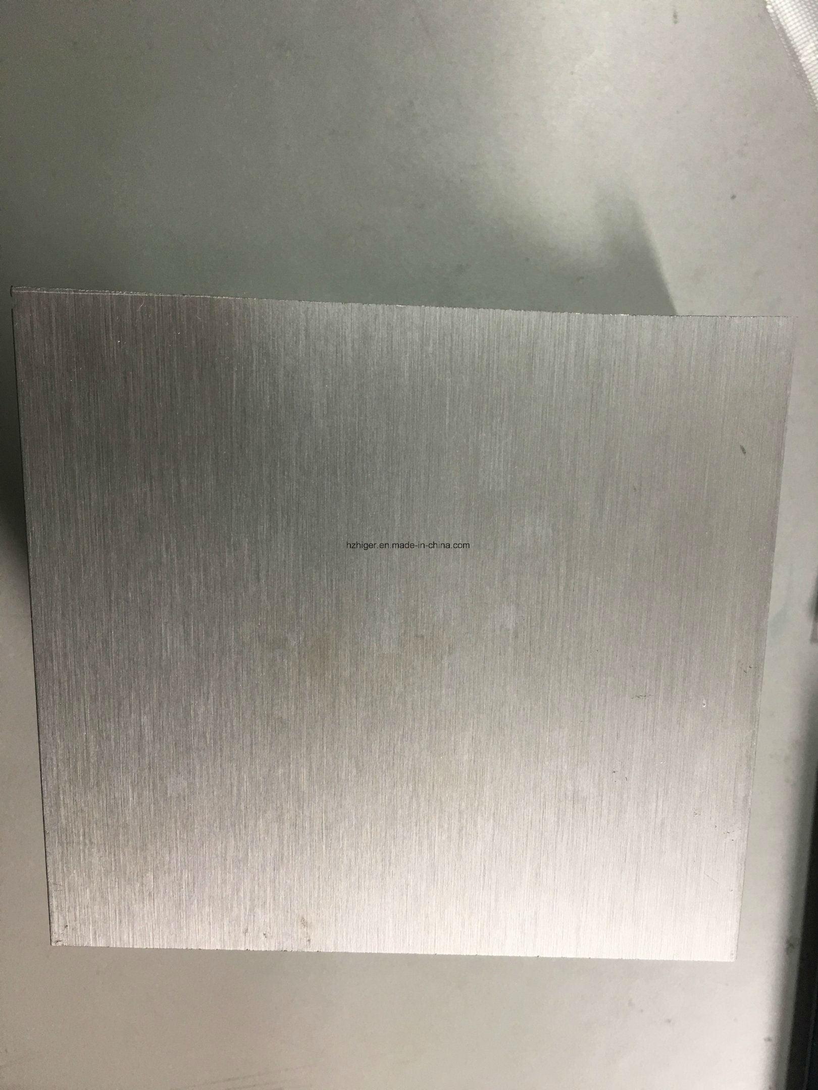 Brushed Anodising Powder Coating 6061/6063 Aluminum Extrusion Profile