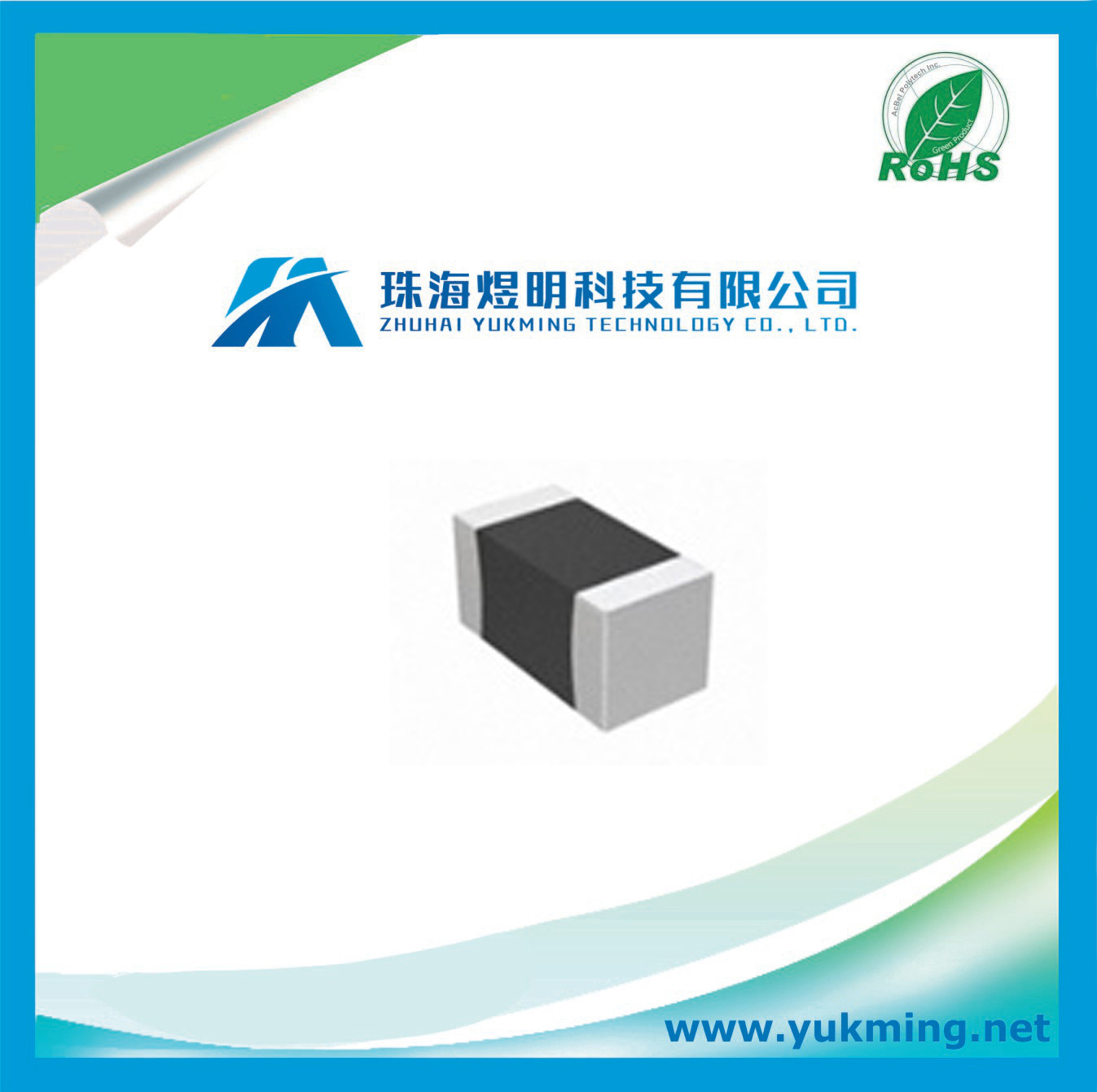 Multilayer Ceramic Chip Capacitor Cc0603krx7r9bb102 Electronic Component