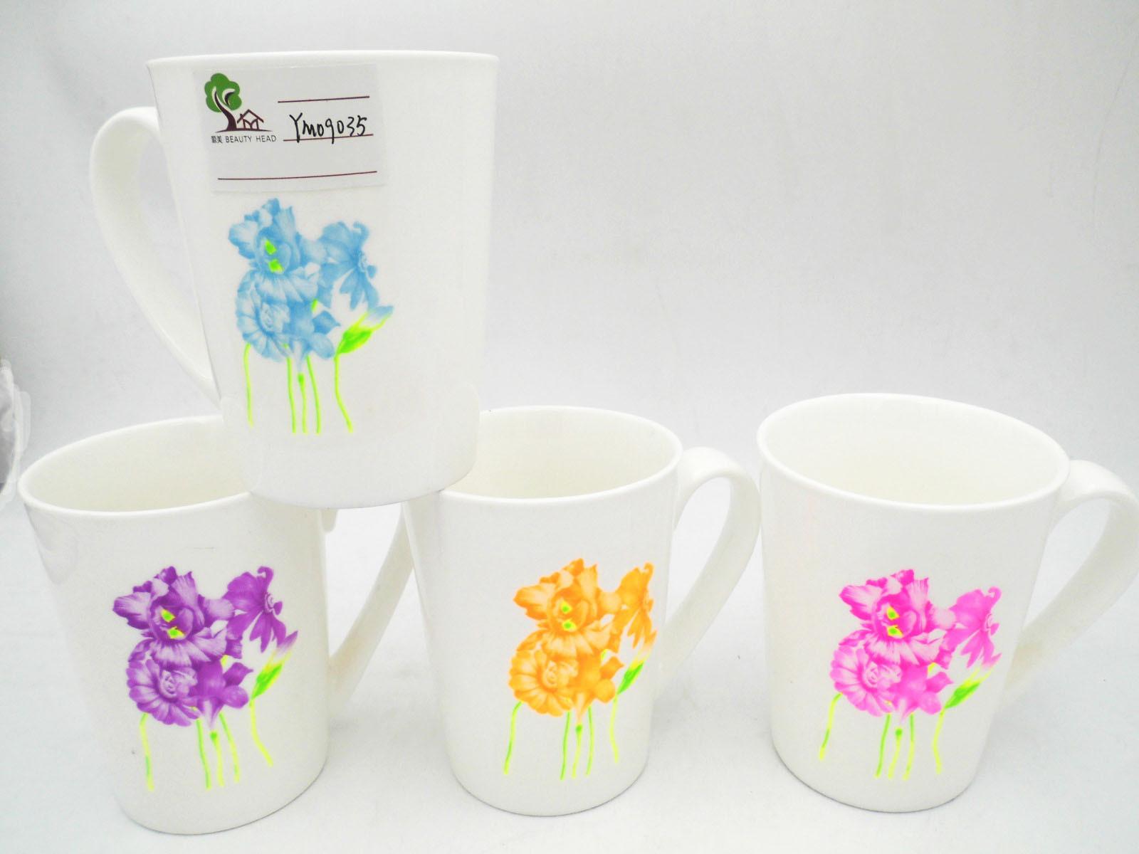 Flower Surface 11oz White Ceramic Mug