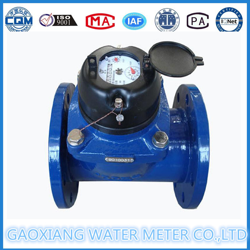 Dn50mm- 300mm Flange Woltman Water Meter, Manufacture Price