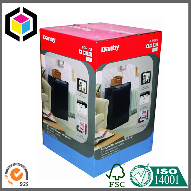 Two Sides Offset Color Print Corrugated Shipping Mailer Box