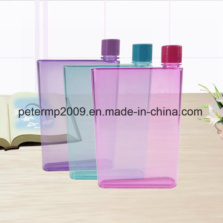 320ml A5 Mini Paper Portable Bottle Flat Water Bottle