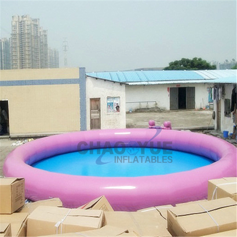 Colorful PVC Round Inflatable Swimming Water Pool for Amusement Park
