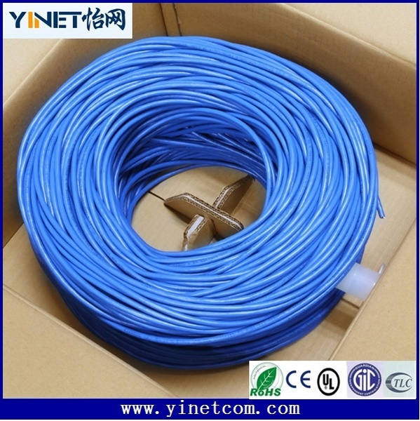 Factory Sales Cat5e/CAT6 UTP Copper Ethernet Data LAN Cable 1000 FT