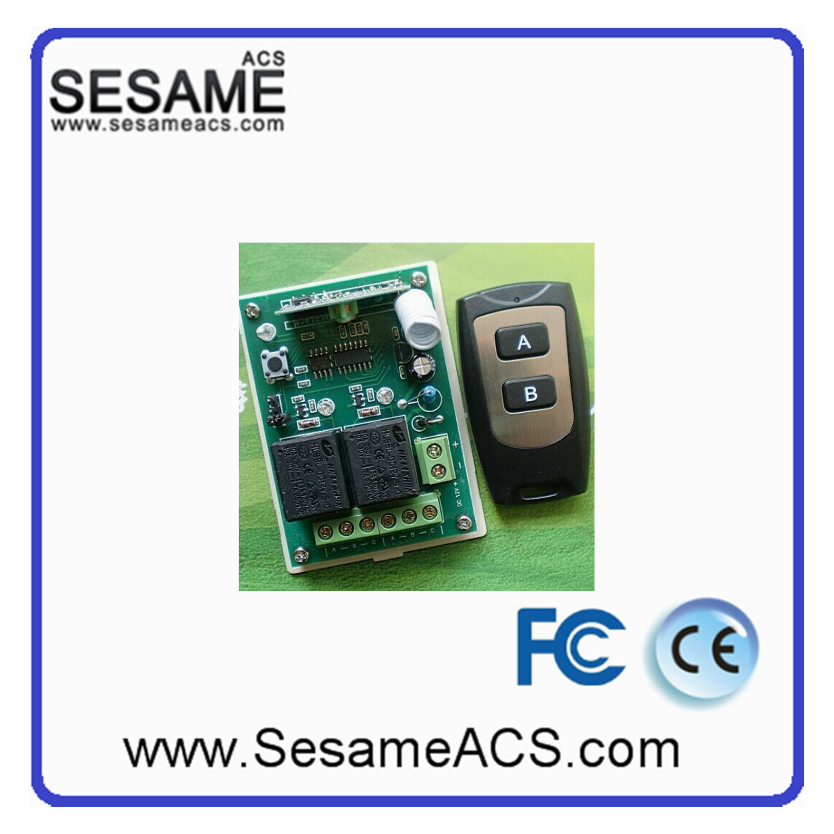 Two Door Wireless Remote Controller (SWBM-2)