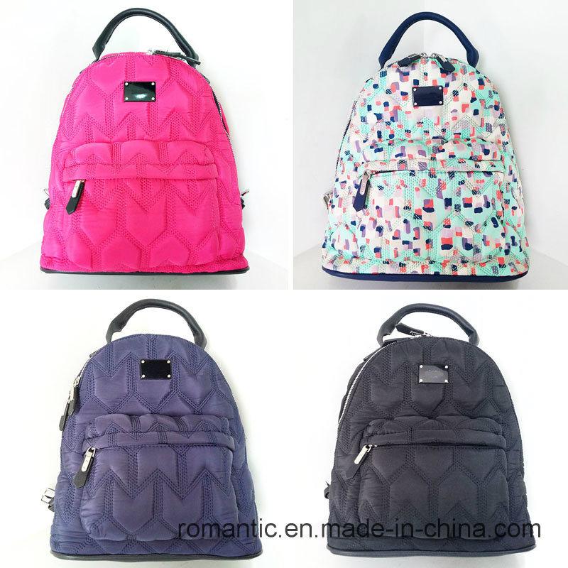 Promotional Lady Nylon Backpack Women Traveling Bag (NMDK-040601)