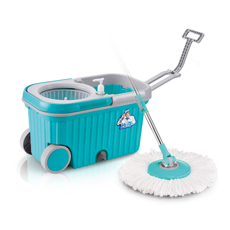 Hot Selling Magic Mop with Wheel Walkable 360 Easy Spin Mop