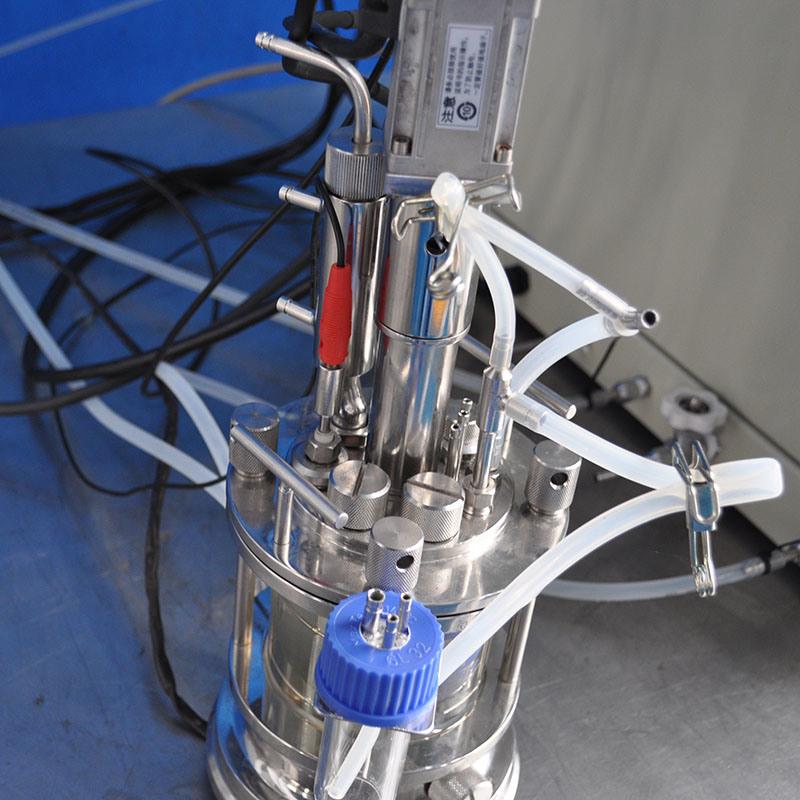 1 Liter Mechanical Stirring Glass Fermenter