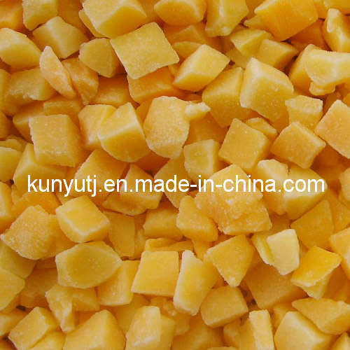 Frozen Yellow Peach Dices with High Quality