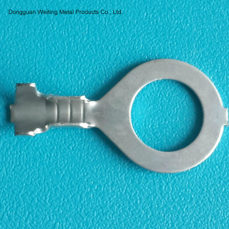 Copper Tin Plated Ring Terminals for Wire Harness Meet RoHS SGS ISO Standards