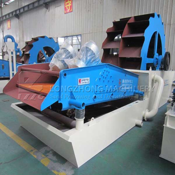 XS Sand Washing & Dewatering Machine
