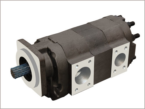 Parker/Commercial/Permco Gear Pump & Motor