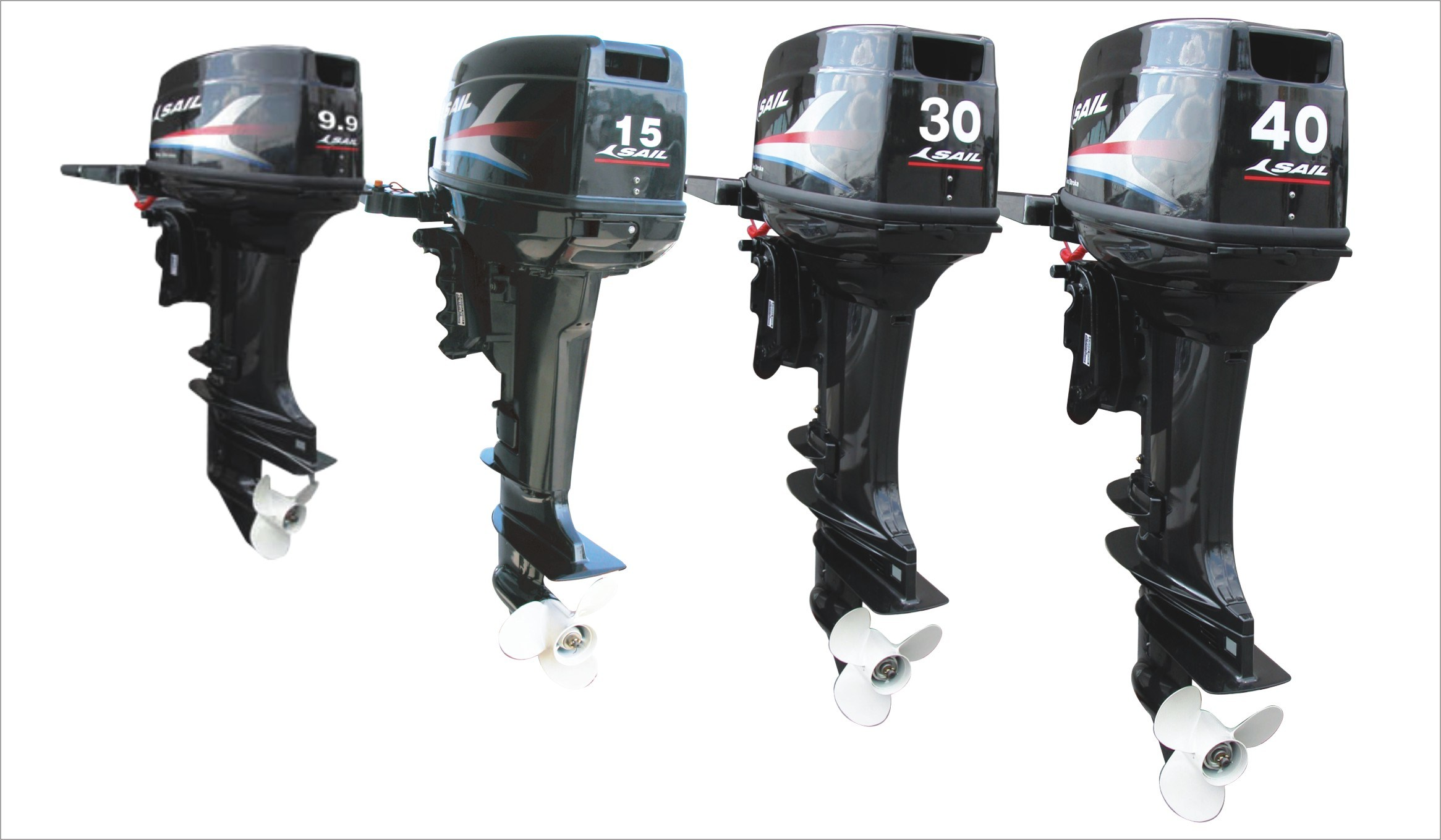 2-Stroke 9.9HP, 15HP, 30HP, 40HP Outboad Motor