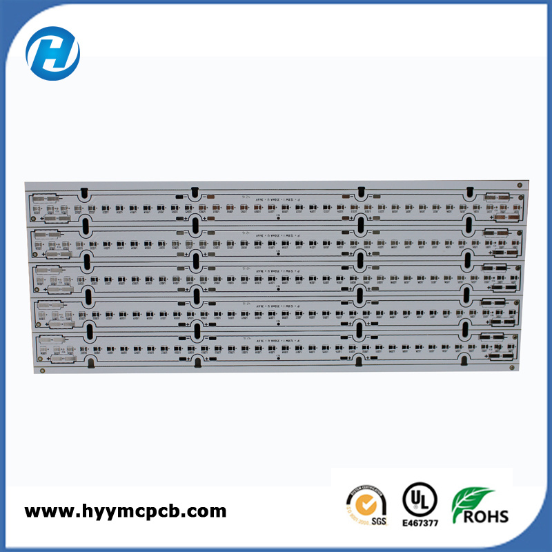 Aluminum Lead Free HASL White PCB with SGS