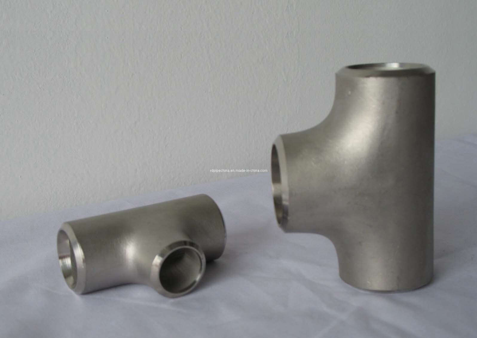 China pipe fitting stainless steel tee dn