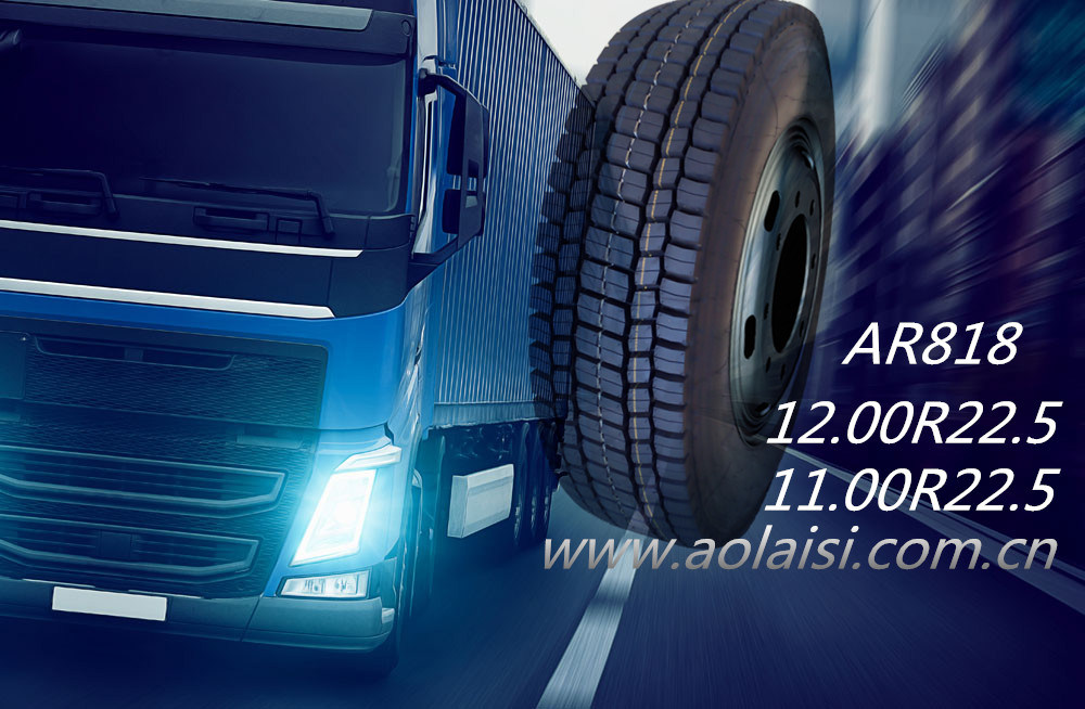Made in China Aulice Brand All Steel Tubeless TBR Tyre for Truck and Bus