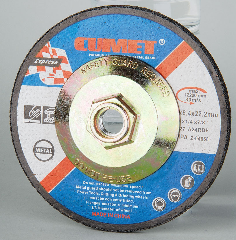 Depressed Center Grinding Wheels with Hub for America Market