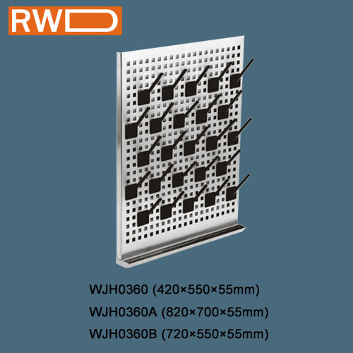 Lab Facilities, Stainless Steel Adjustable Pegboard (WJH0360)