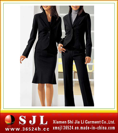 China womens work clothing fe 068 china work uniform for Womens work shirts uniforms