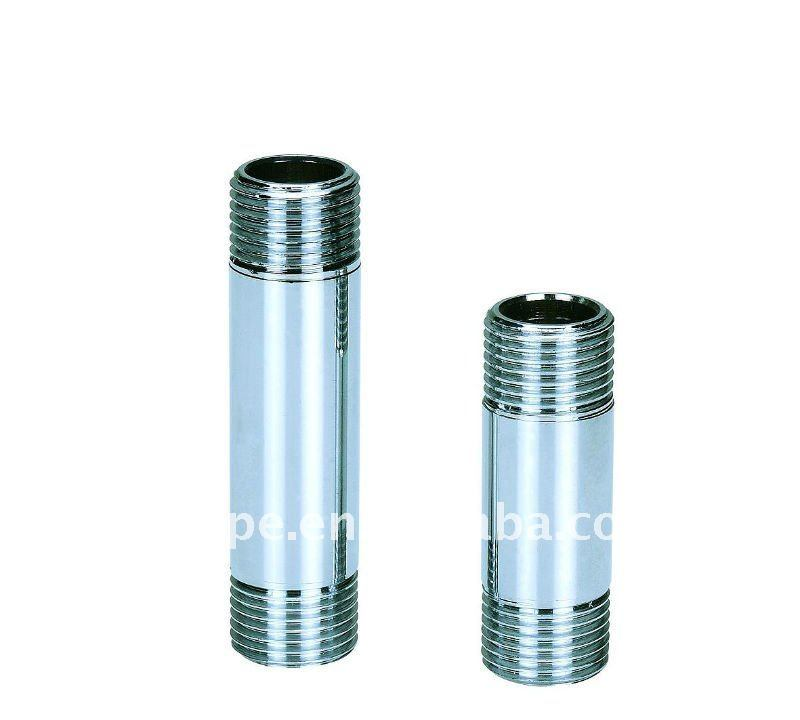 Chrome-Plated Extension M/M for Screw Brass Fittings