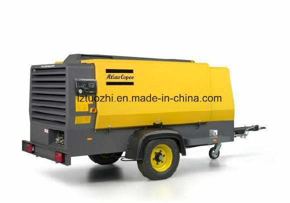 Atlas Copco 782cfm Portable Diesel Air Compressor for Mining