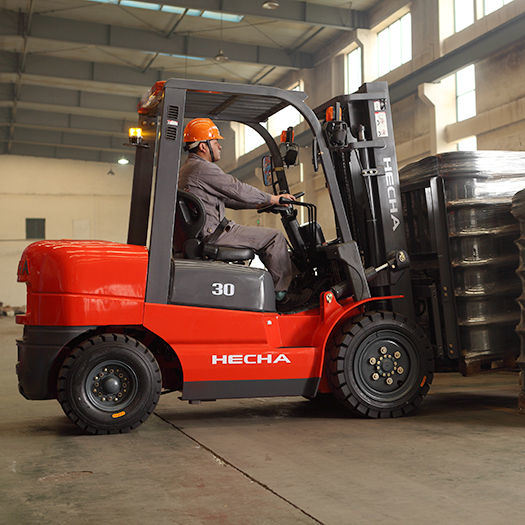3.5ton Automatic Diesel Forklift Trucks with Isuzu Engine