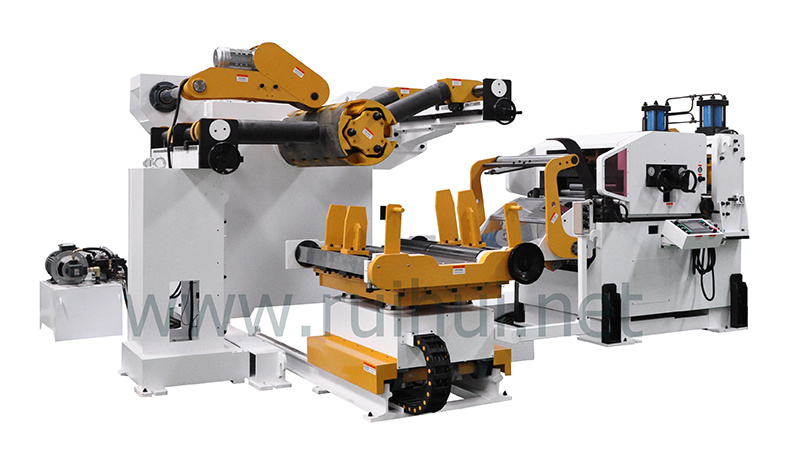 Automatic Press Line Use 3 in 1 Straightener Feeder (MAC4-1000L)