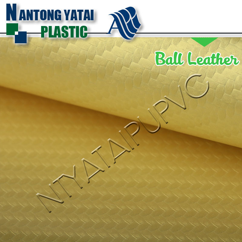 Durable Popular Cheap Synthetic Leather for Soccer Balls