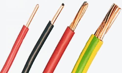 Pvc Single Core Cables : China single core copper pvc insulated wire cable