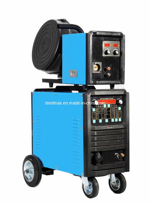 8 in 1 Digital Soft-Switch Automatic Wire Speeding Aluminum Welding Machine, Double Pulse MIG Welding Machine