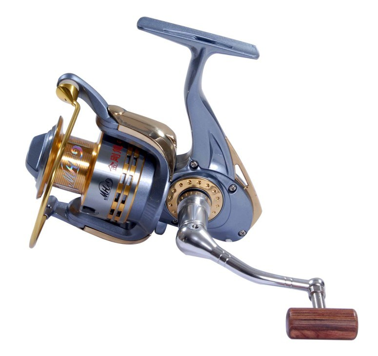 Aluminum fishing reel gg2000 china spinning reel for Chinese fishing reels