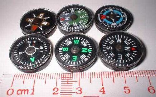 Unique No Bubble Design Mini Compass #A-20