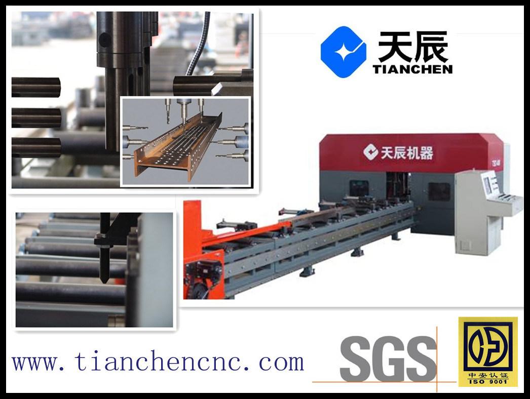 3 D CNC Drilling Machine for Beam Bar