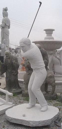 Human carving sculpture stone hxs hs