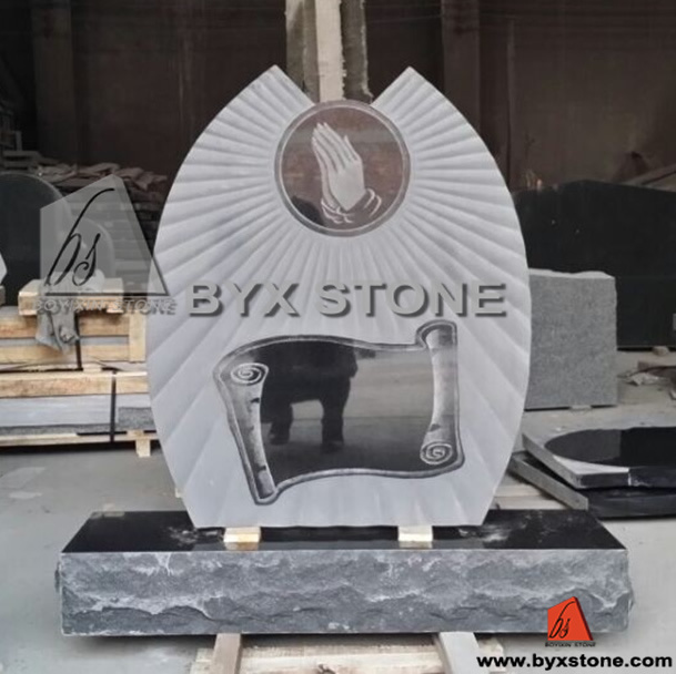 American Newly Design Granite Stone Headstone / Tombstone