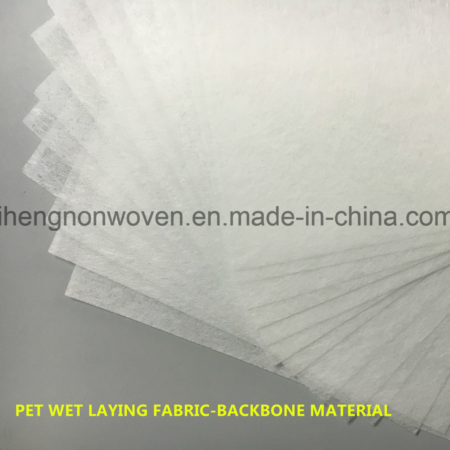Pet Wet-Laying Nonwoven Fabric Coarse Filter Media