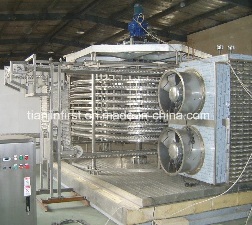 Quick Freezing High Efficiency Spiral Freezer Machine