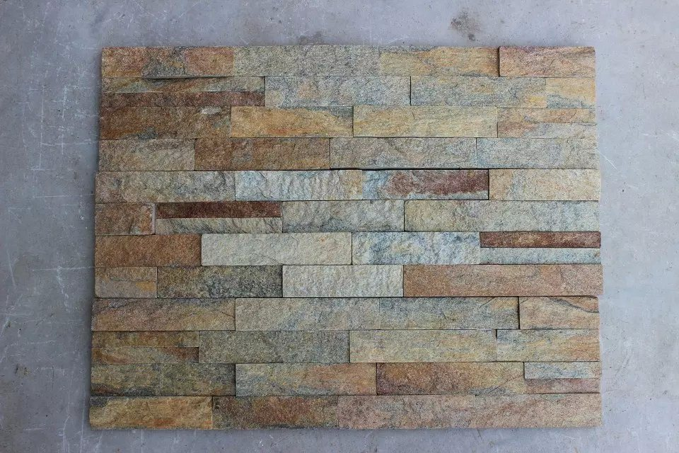 Natural Black Yellow Rusty Multicolor Slate for Wall /Roofing Tiles