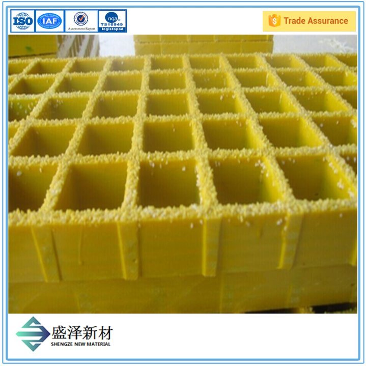 Good Quality Fiberglass Molded Grating FRP Molded Grating GRP Molded Grating Fiberglass Grille FRP Grille GRP Grille From Qinhuangdao Shengze