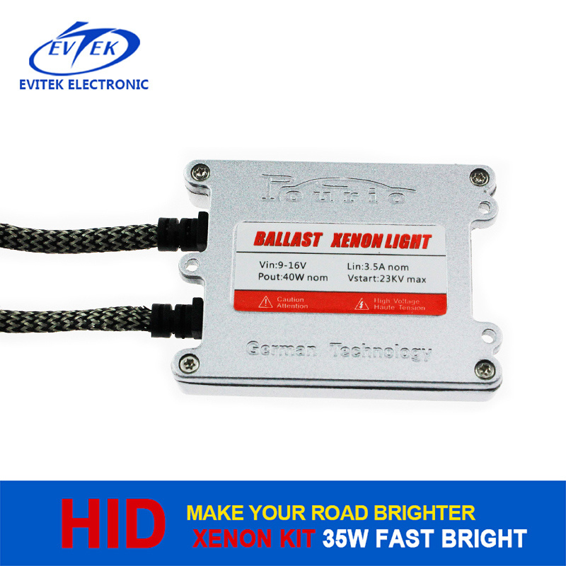 2016 Hot Sell Factory Price Wholesale Fast Bright Ballast HID AC 35W with Ce RoHS Certification