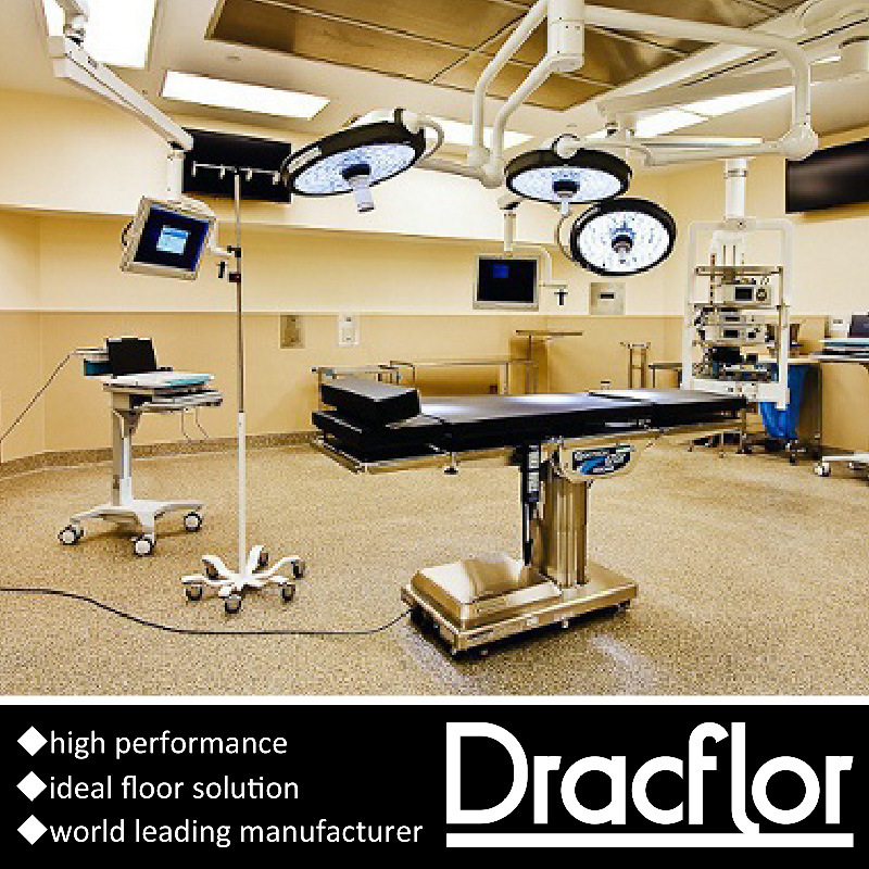 European Style Anti Static Vinyl Flooring for Hospital