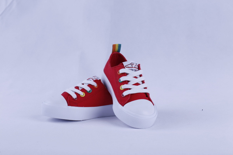 Vulcanized Shoes Rubber Outsole Canvas Casual Shoes