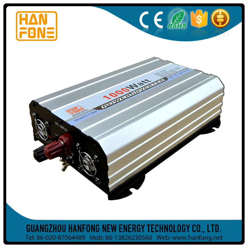 Solar Inverter 12V to 220V Modified Sine Wave 1000W Inverter
