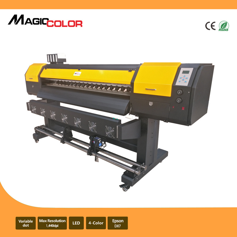1.6m Cheap Cost Eco Solvent Printer with Epson R9