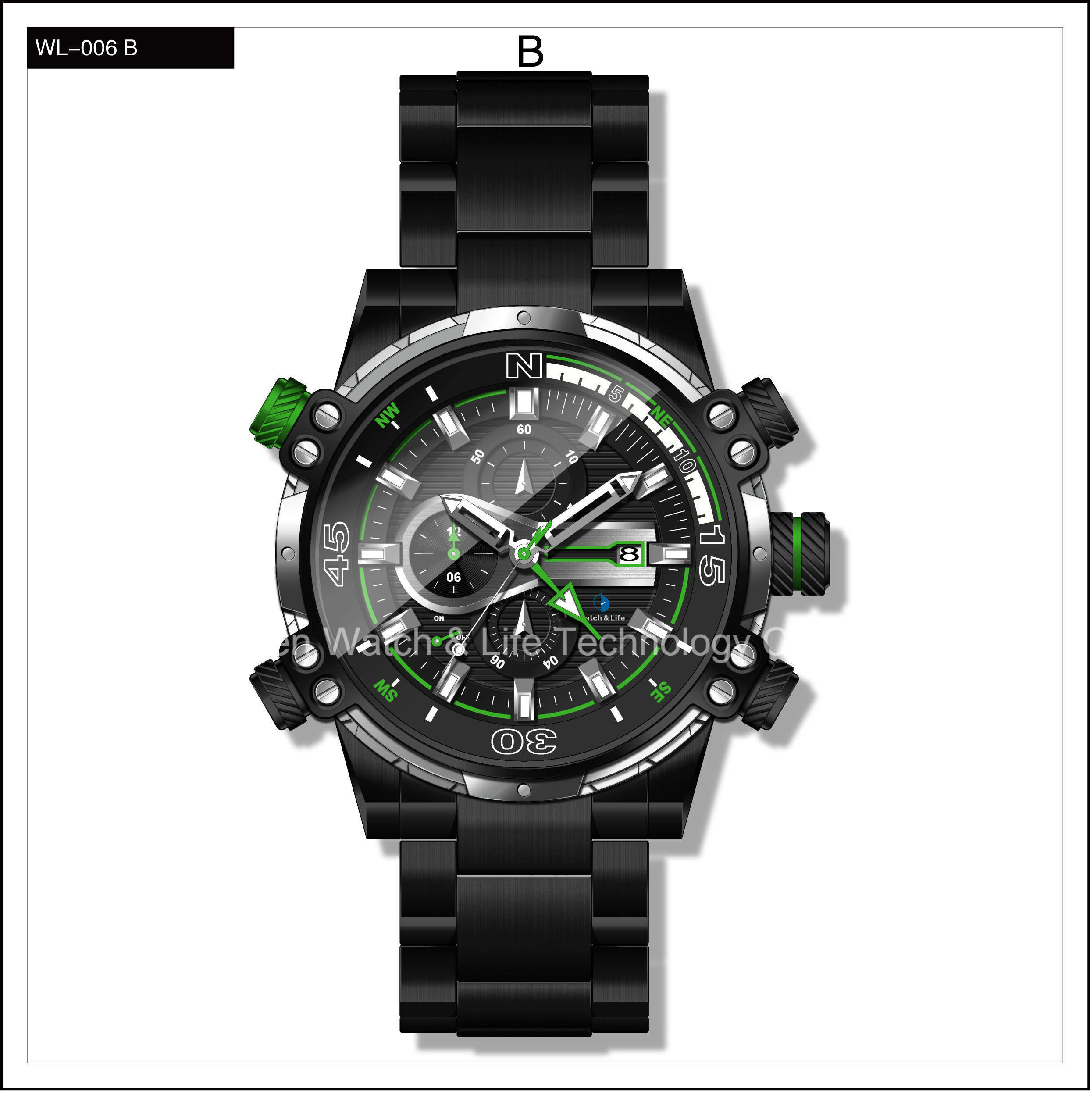 Promotion Mechanical Swiss High Level Men′s Sport Wrist Watch