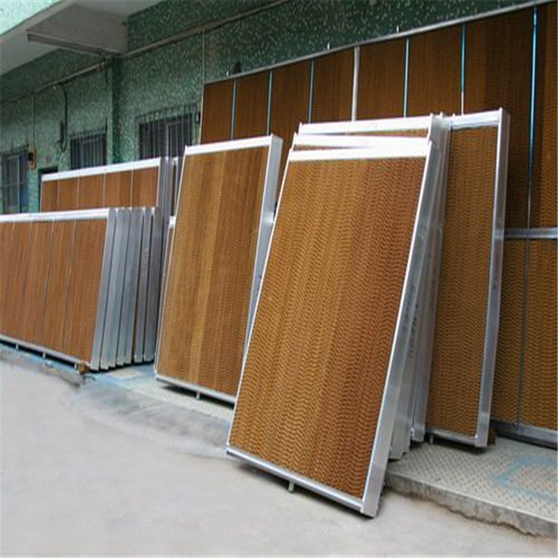 Evaporative Cooling Pad with Galvanized Frame