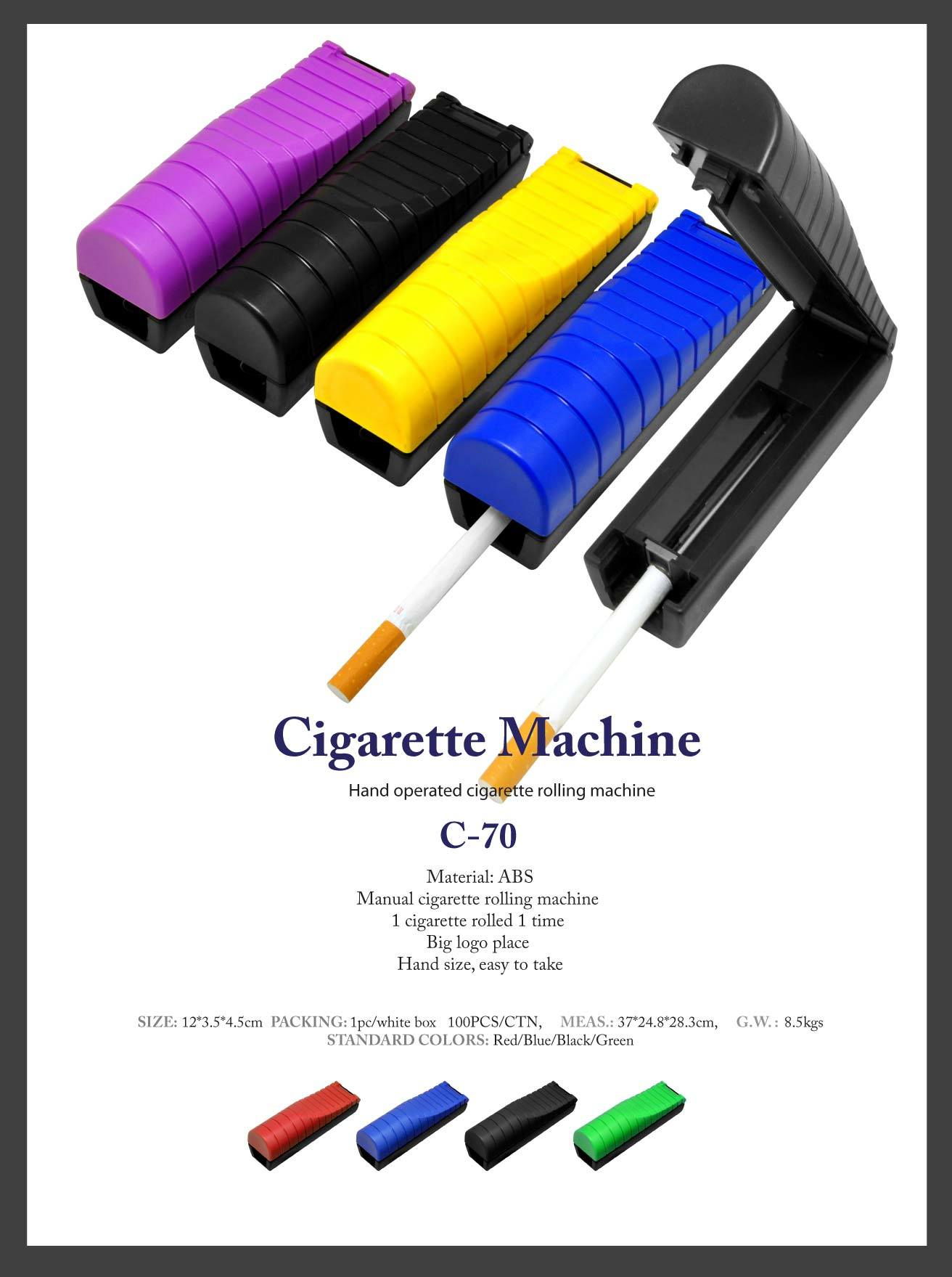 rolling tobacco machine
