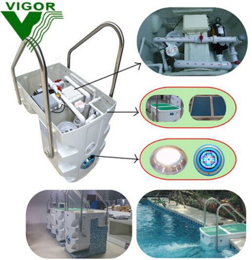 Factory Direct Sell Pool Equipment Wall-Hung Pipeless Swimming Pool Filter