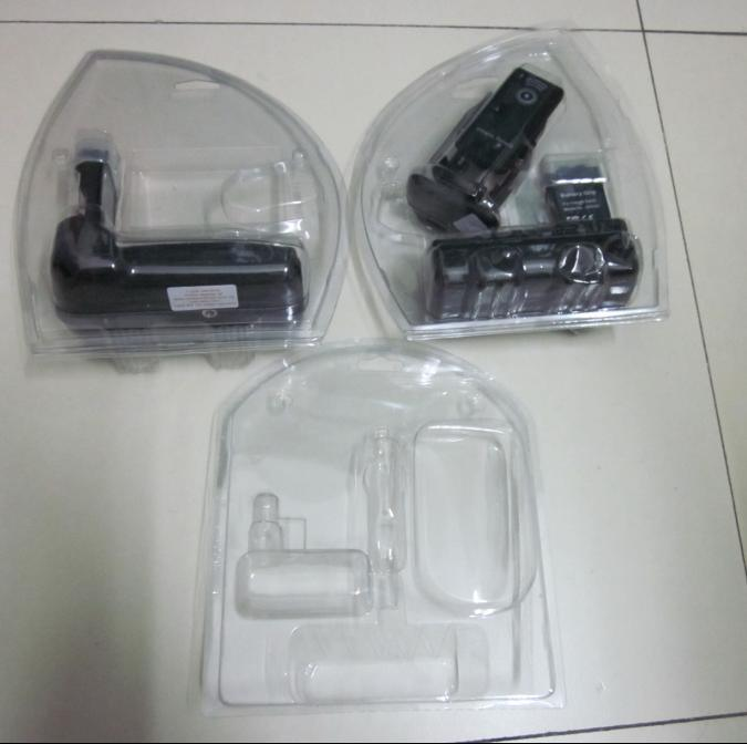 Plastic Mouse Electronics Clear Blister Packaging