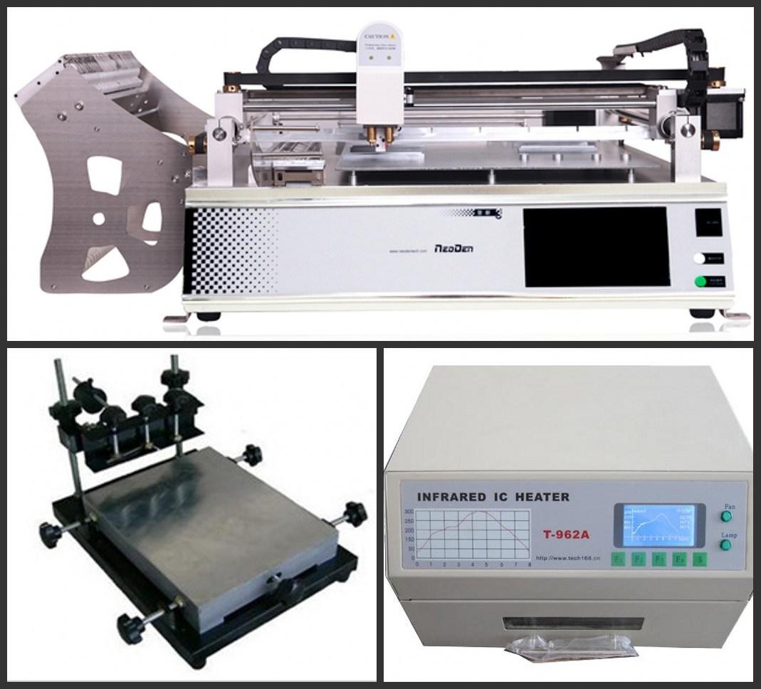 TM245p+T962A Reflow Soldering for SMT Production Line